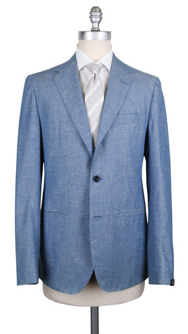 Abla by Sartorio Denim Blue Suit