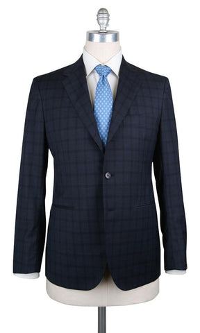 Sartorio Napoli Midnight Navy Blue Suit
