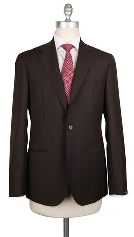 Sartorio Napoli Dark Brown Suit