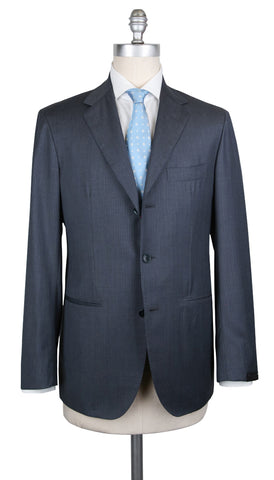 Sartorio Napoli Charcoal Gray Suit
