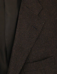 New $4200 Sartorio Napoli Brown Cashmere Sportcoat - 46/56 - (UGT2221G6822R4)