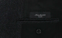 $4800 Sartorio Napoli Gray Wool Blend Coat - Size L (US) / 52 (EU) - (US04DM04)