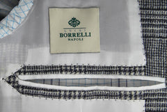 New $3000 Luigi Borrelli Gray Sportcoat 40/50