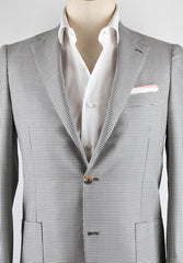New $3600 Luigi Borrelli Gray Sportcoat 38/48