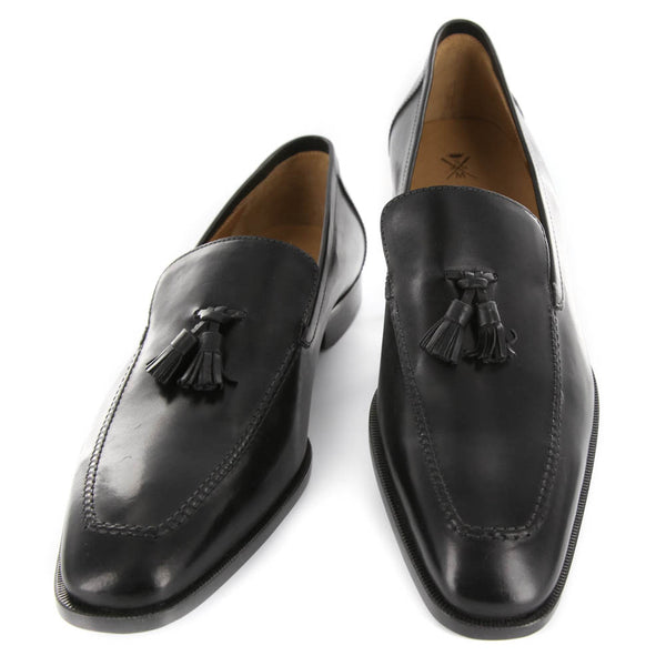 New $850 Sutor Mantellassi Black Shoes - Loafers - 7.5/6.5 - (SM5102844113)