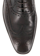 New $1200 Sutor Mantellassi Dark Brown Shoes - 7.5/6.5 - (M941/32028LAPO)