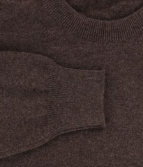 $900 Svevo Parma Brown Cashmere Sweater - Size S (US) / 48 (EU) - (0100SA131629)