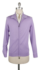 $1875 Svevo Parma Lavender Purple Cashmere Blend Sweater - Full Zip - S/48 (501)