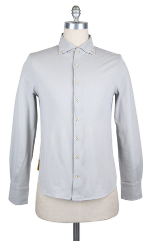 Svevo Parma Light Gray Shirt - Extra Slim