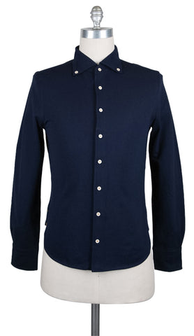 Svevo Parma Navy Blue Shirt - Extra Slim