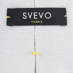 "New $300 Svevo Parma Light Gray Solid Tie - 3.25"" x 57"" - (3520-MP35)"