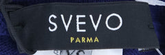 $875 Svevo Parma Dark Blue Cotton Sweatpants - (SV-4697SE14V8E) - Parent