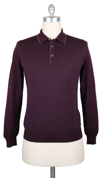 $1200 Svevo Parma Purple Sweater - 1/4 Button - (SV6153PSA15V10F) - Parent