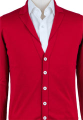 New $550 Svevo Parma Red Sweater - Cardigan - (8288SE13MP0002423F) - Parent