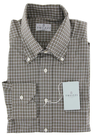 Truzzi Brown Shirt - Slim