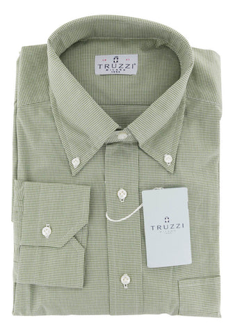 Truzzi Green Shirt - Slim