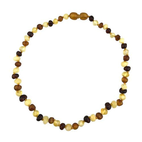"Amber Necklace 11"" Baroque- Charlie Banana"