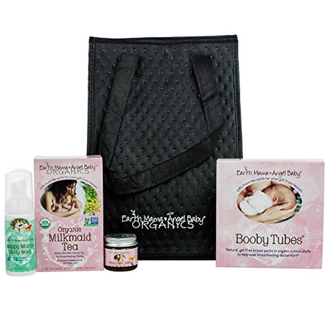 Earth Mama Angel Baby Milk-to-go Pumping Companion Essentials