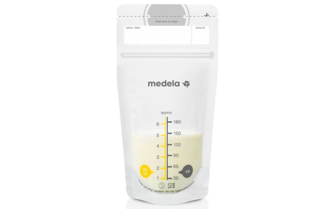 Breast Milk Storage Bags - 50 Ct