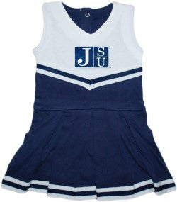 Jackson State University NCAA Newborn Infant Baby Cheerleader Bodysuit Dress