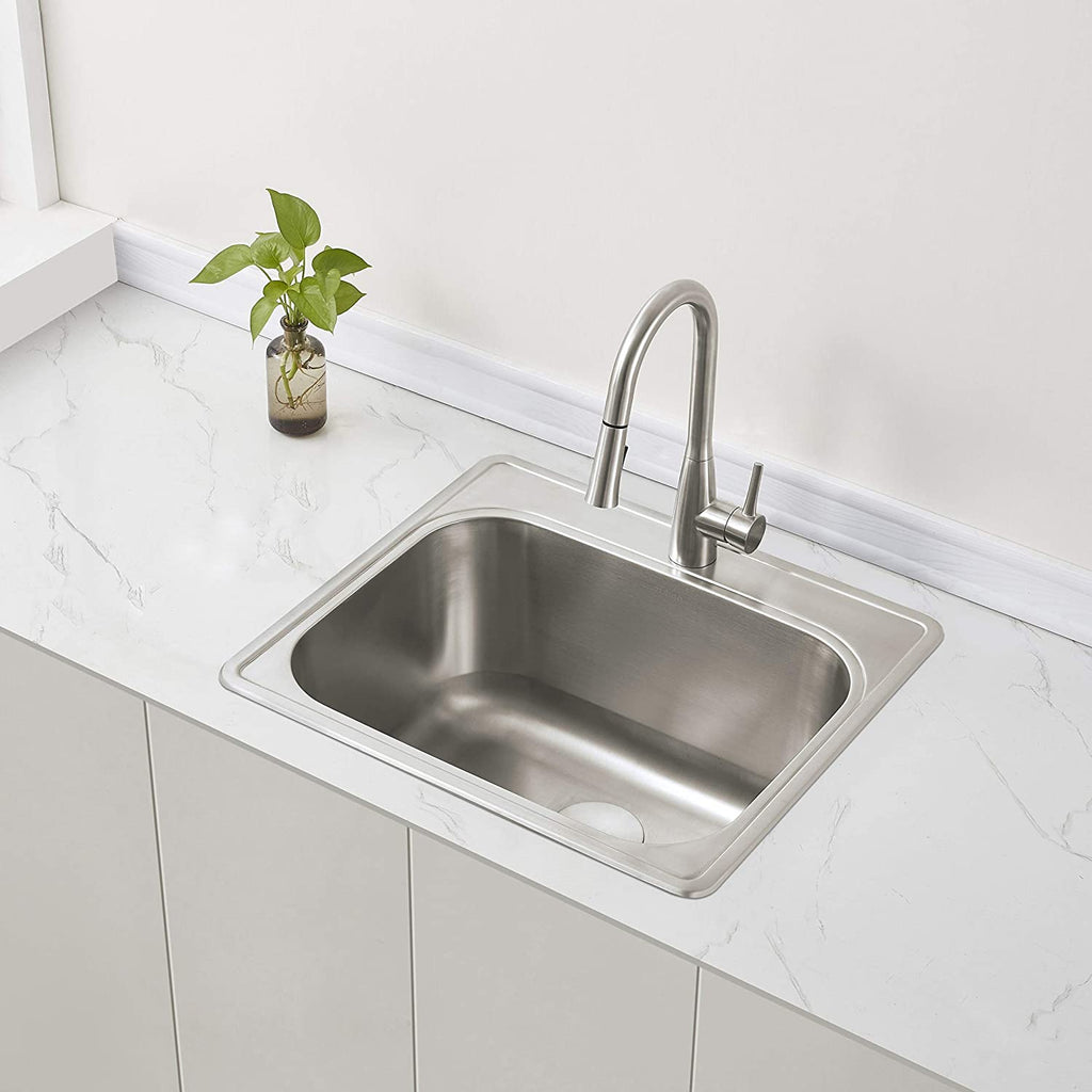 Zuhne 25 By 22 Drop In Utility Sink For Laundry Room With Drain Stra Zuhne
