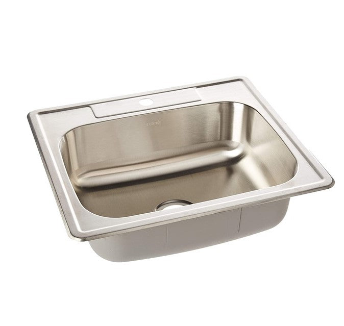 Zuhne Drop In Utility Laundry Kitchen Sink Stainless Steel 25 By 22 S Zuhne