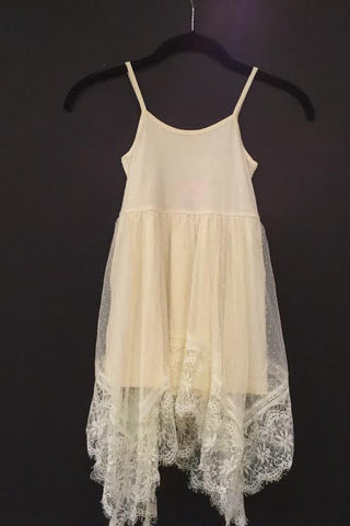 MLK fashion Cream Dress