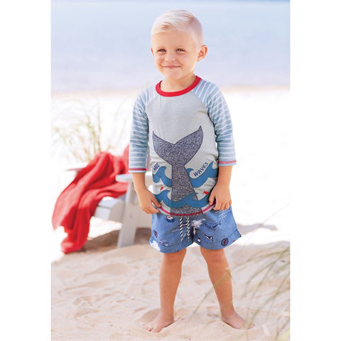 Mud Pie Sail swim trunks