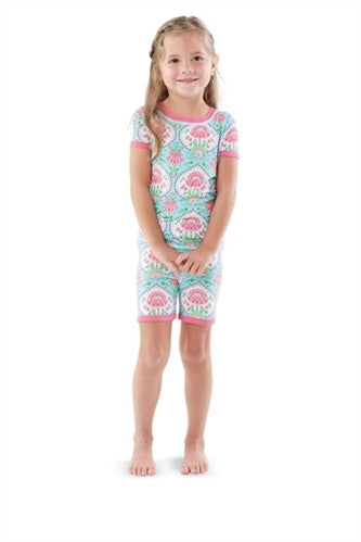 Mud Pie Floral Loungewear - Cache For Kids
