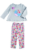 Mud Pie Secret Garden Tunic and Legging Set