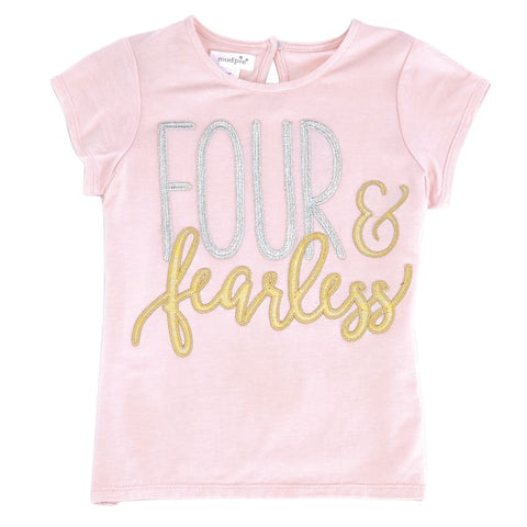 Mud Pie Four and Fearless Shirt
