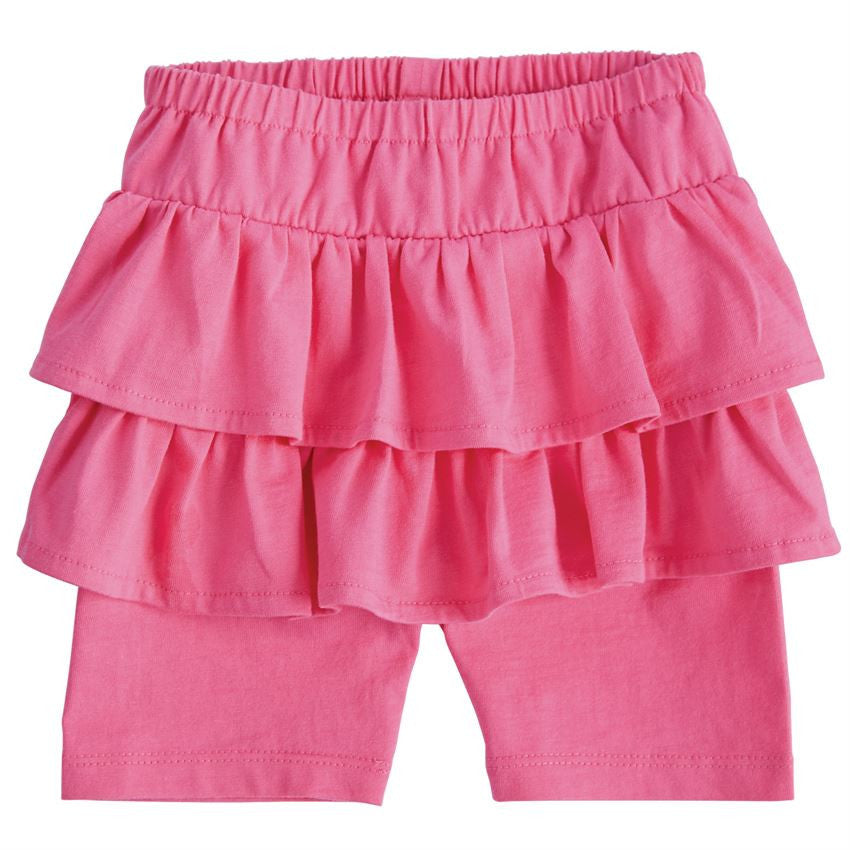 Mud Pie Pink Skirted Short Set