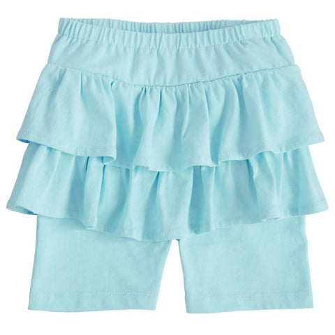 Mud Pie Skirted Blue Short Set