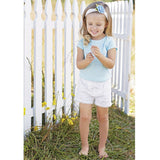 Mud Pie white lace shorts