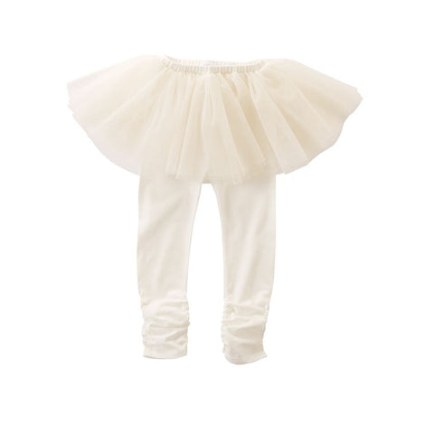 Mud Pie tutu skegging ivory