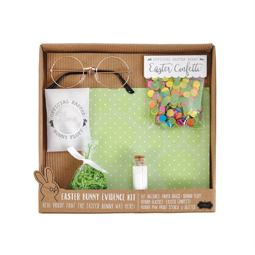 Mud Pie Easter Evidence Kit