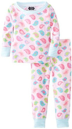 Mud Pie chick long pj - Cache For Kids