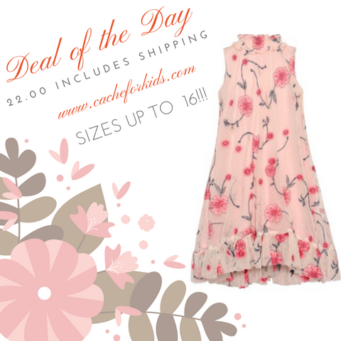 Bonnie Jean flower dress