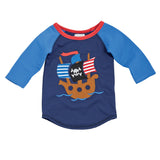 Mud Pie Pirate ship Rash Guard