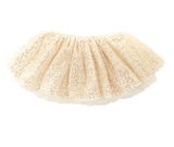 Mud Pie Sequined Gold mesh tutu