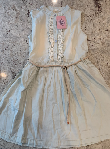 Mlkids distressed denim dress