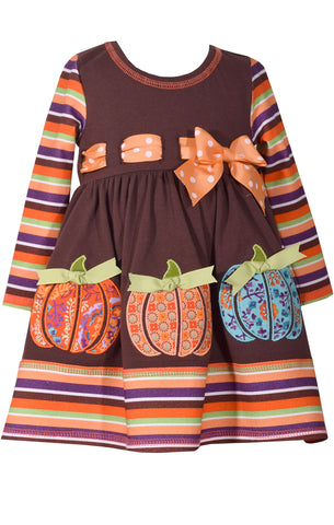Bonnie Jean Pumpkin dress