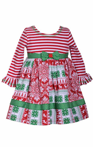 Bonnie Jean Holiday dress