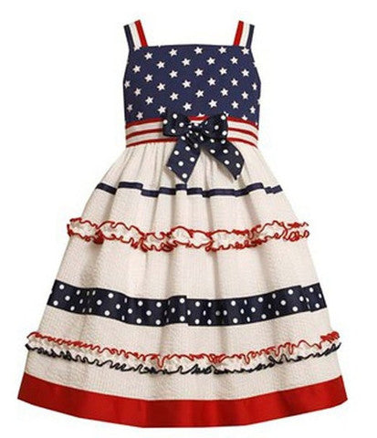 Bonnie Jean Vintage Stars and Stripes - Cache For Kids