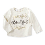 Mud Pie Grateful t shirt