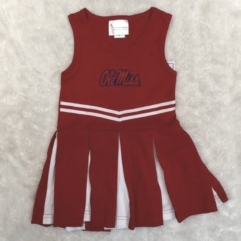 NCAA College Ole Miss Cheer outfit