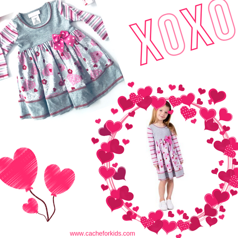 Bonnie Jean heart dress