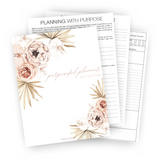 Purposeful Planner - Printable (Perpetual)