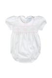 Nella Smocked Baby Bubble Onesie