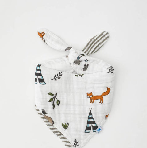Cotton Muslin Bandana Bib